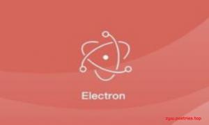 Electron开发仿网易云音乐播放器