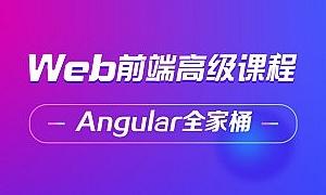 Angular高级全技术栈高级视频教程 大前端架构师必备 Angular项目实战课程技能