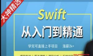 Mage-Swift编程从入门到精通-MJ大神精选