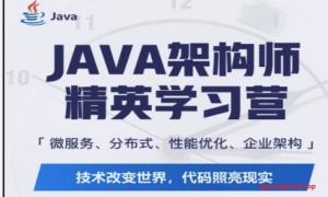 蚂蚁java架构师(第七/八期含项目)  2021年 完结无秘