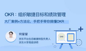 OKR:组织敏捷目标和绩效管理