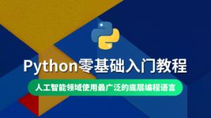 8天深入理解python编程 视频教程 教学视频