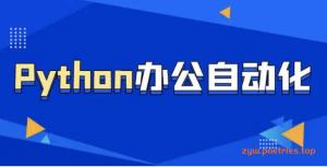 职场人必学的Python技能课(10G)