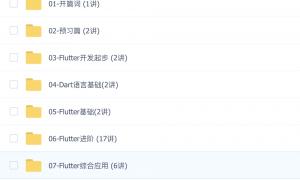 Flutter核心技术与实战